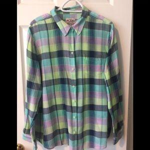 OLD NAVY PLAID SINCE 1994 original shirt